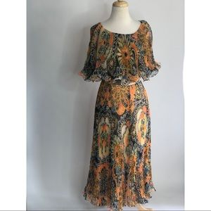 Miss Elliette california vintageSmall ruflle Dress
